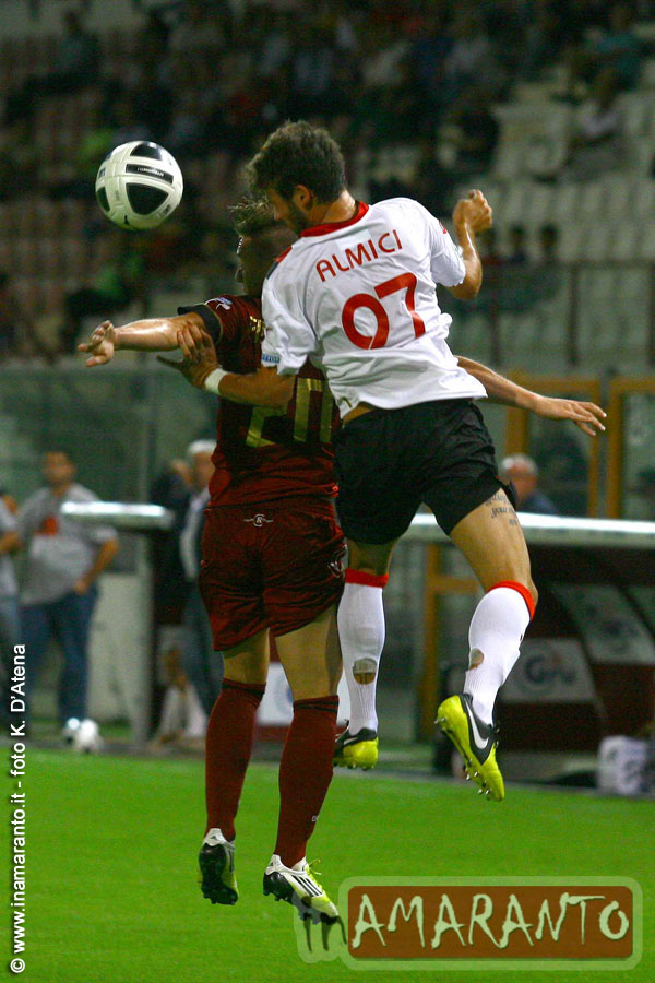 Reggina con poco mordente. A Castellammare finisce 1-0