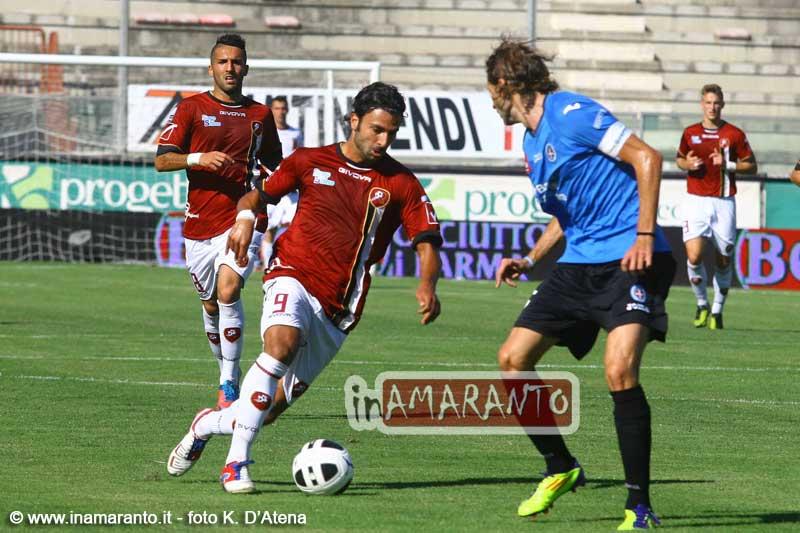 Reggina Novara 1-0, le immagini del match