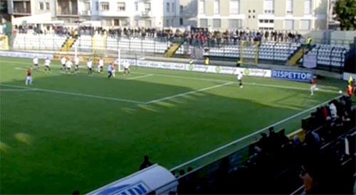 Risultato finale: Pro Vercelli-Reggina 0-0