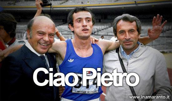 È morto Pietro Mennea