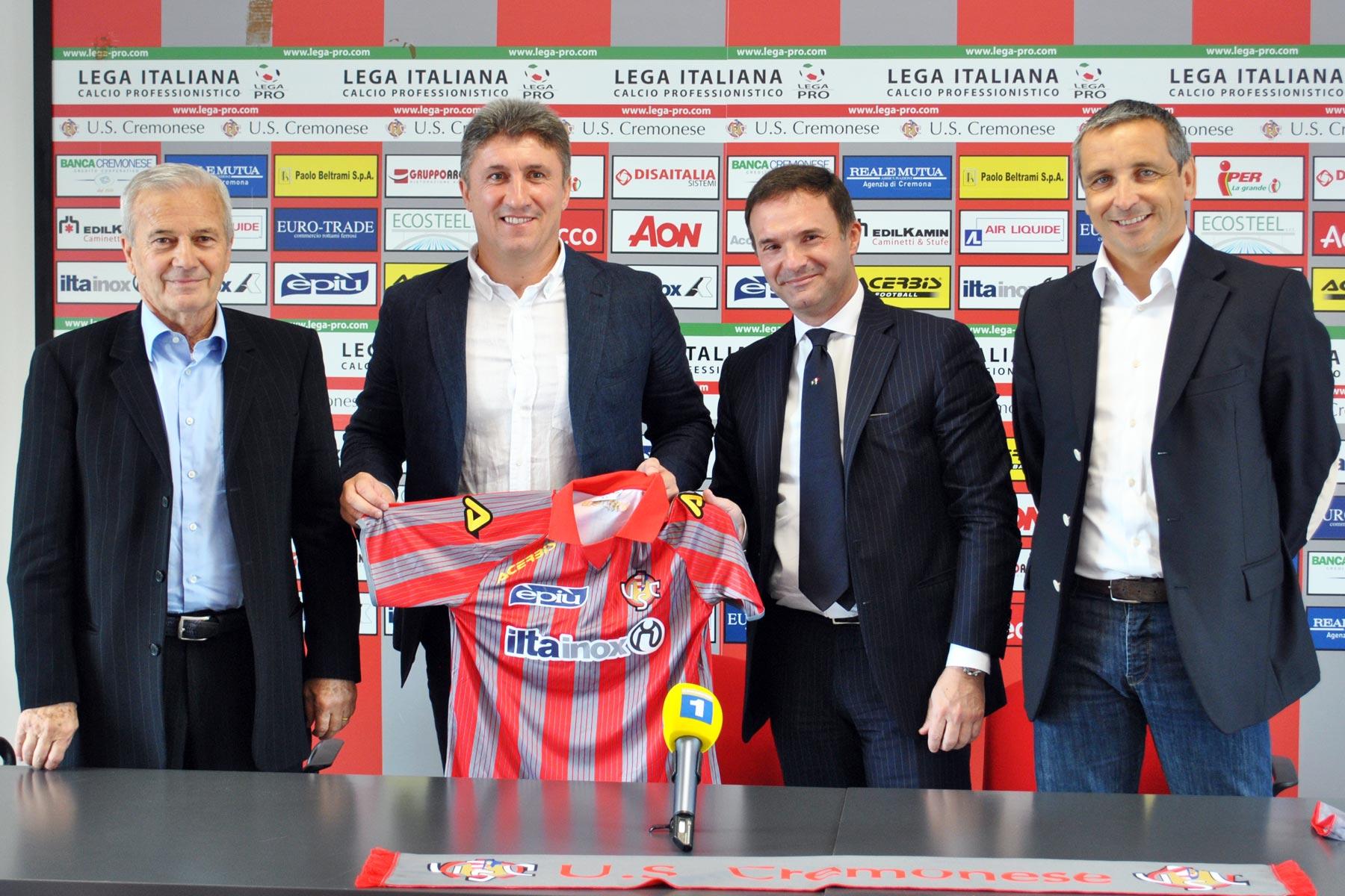 Torrente firma con la Cremonese in Lega Pro