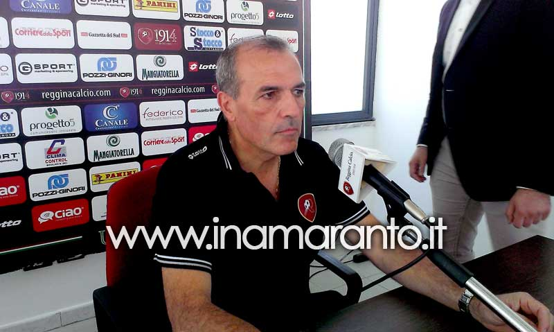 [VIDEO] Fabrizio Castori in conferenza stampa prima di Reggina-Palermo