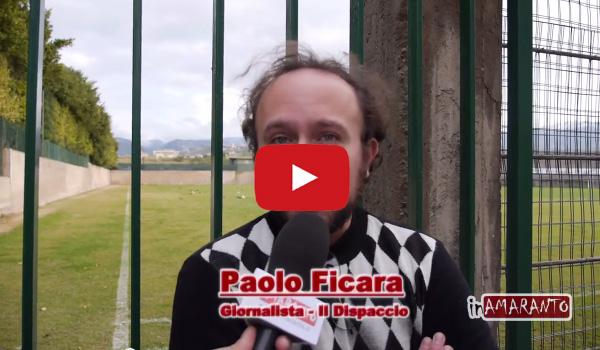 [VIDEO] Calcio – Reggina, video-intervista a Paolo Ficara.