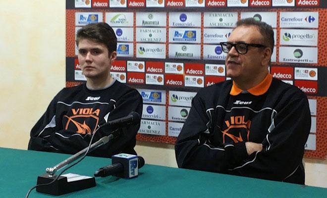 """Basket legadue, Ponticiello (Viola): """"A Firenze voglio una squadra aggressiva"""""""