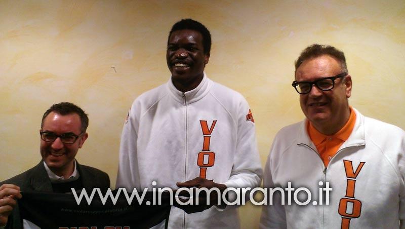"""Basket – Viola, arriva Papa Dia: """"Approccio positivo, la squadra gioca per vincere"""""""