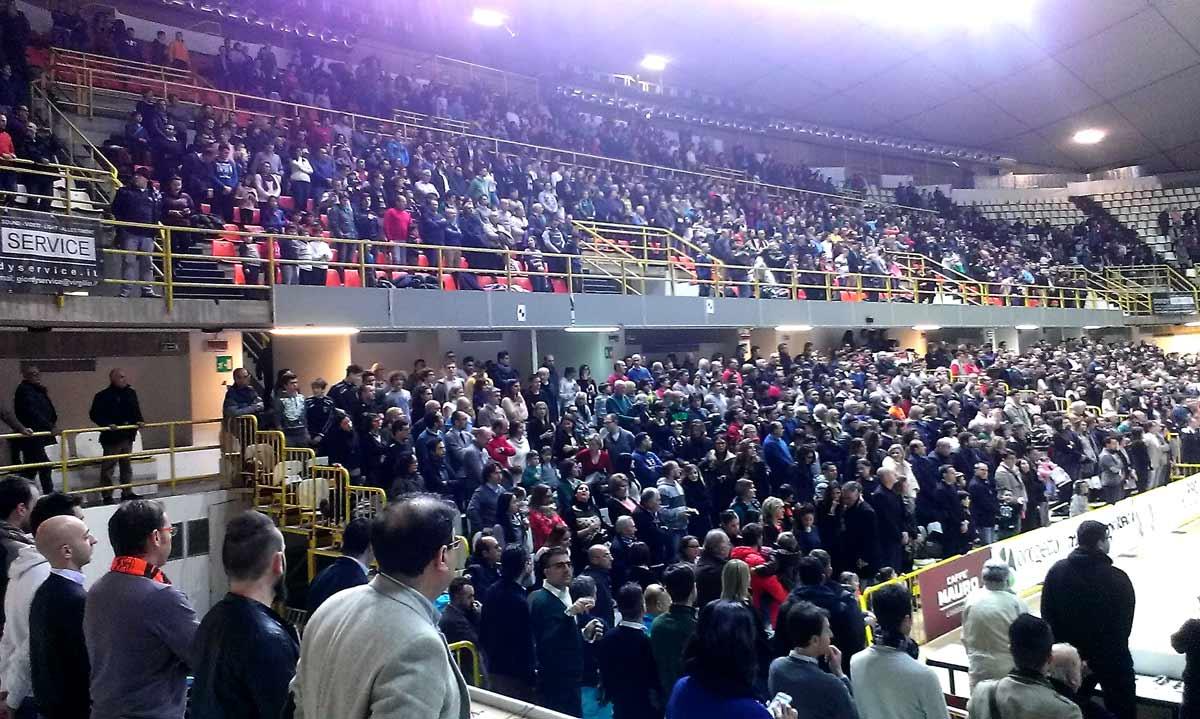 Basket: Viola Reggio Calabria-Treviso, è nuovo record di pubblico in Serie A2