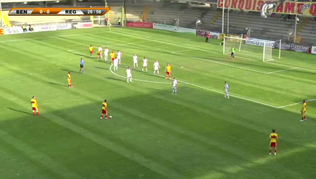 Benevento-Reggina 4-0 D'Agostino (31′), Di Lorenzo (72′ aut.), Mazzeo (75′), Marotta (82′)
