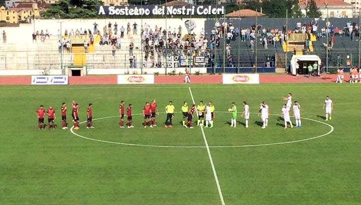 Cavese-Reggina 2-0. Per gli amaranto la quarta sconfitta in cinque gare.