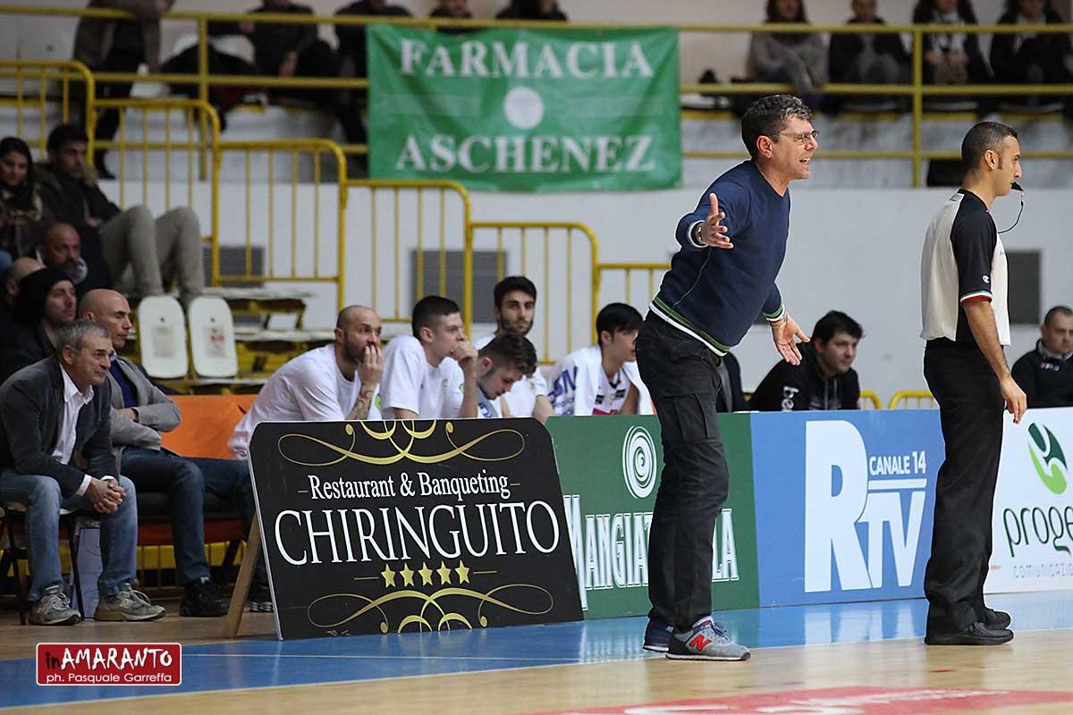 Basket, Viola: esonero bis per coach Benedetto. Bianchi di nuovo al timone con Huges?