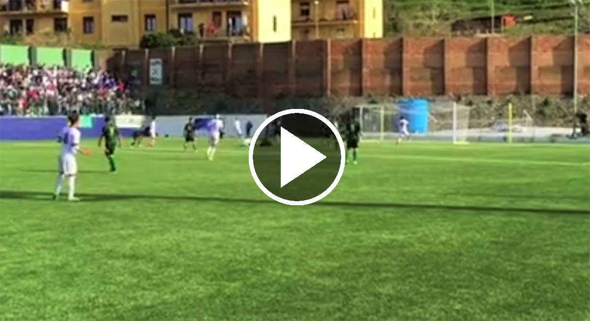 Palmese-Reggina 0-1: Il video del gol amaranto.