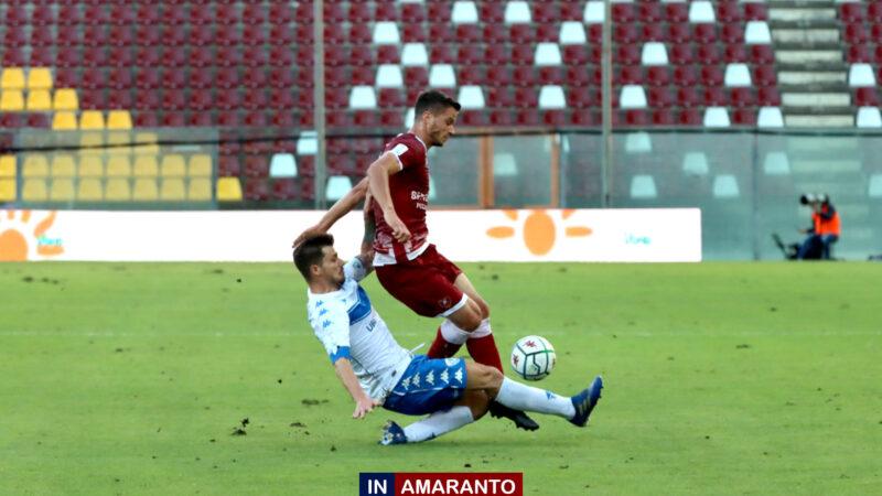 Reggina-Brescia 0-0 dopo 45′