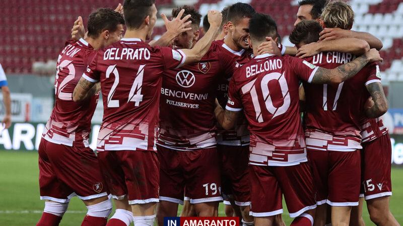 Frosinone-Reggina: formazioni ufficiali